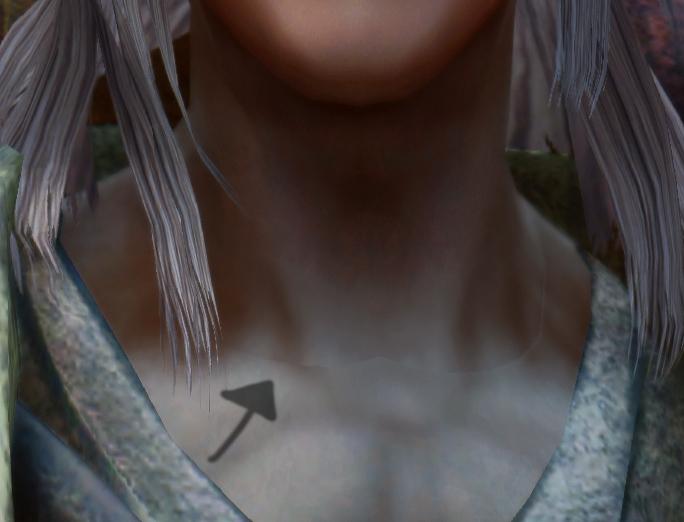 【Blender】でテクスチャの繋ぎ目を馴染ませる(首の繋ぎ目問題解消)